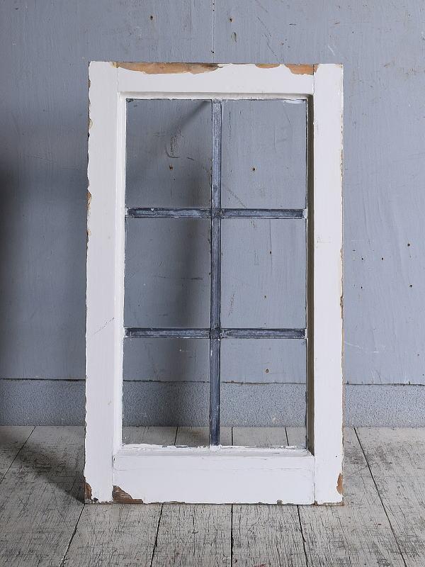 イギリス アンティーク 窓 無色透明 9698