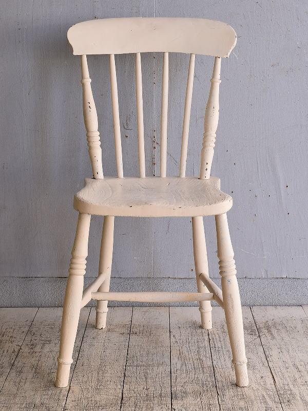 イギリス アンティーク家具 キッチンチェア 椅子 9716