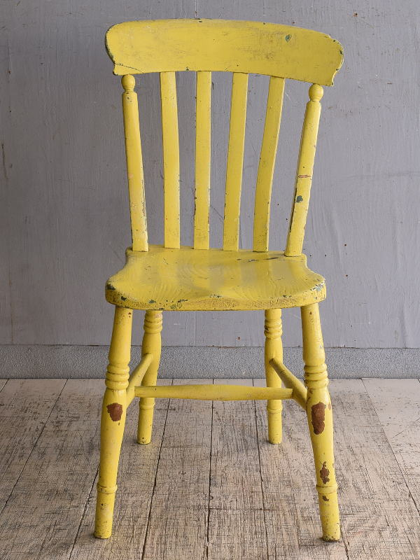 イギリス アンティーク家具 キッチンチェア 椅子 9717