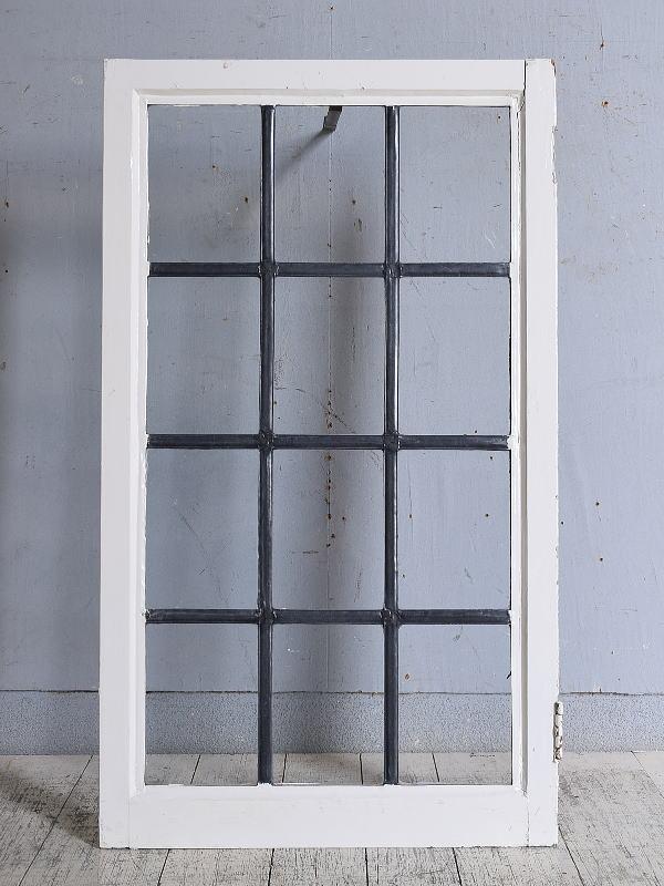 イギリス アンティーク 窓 無色透明 9718