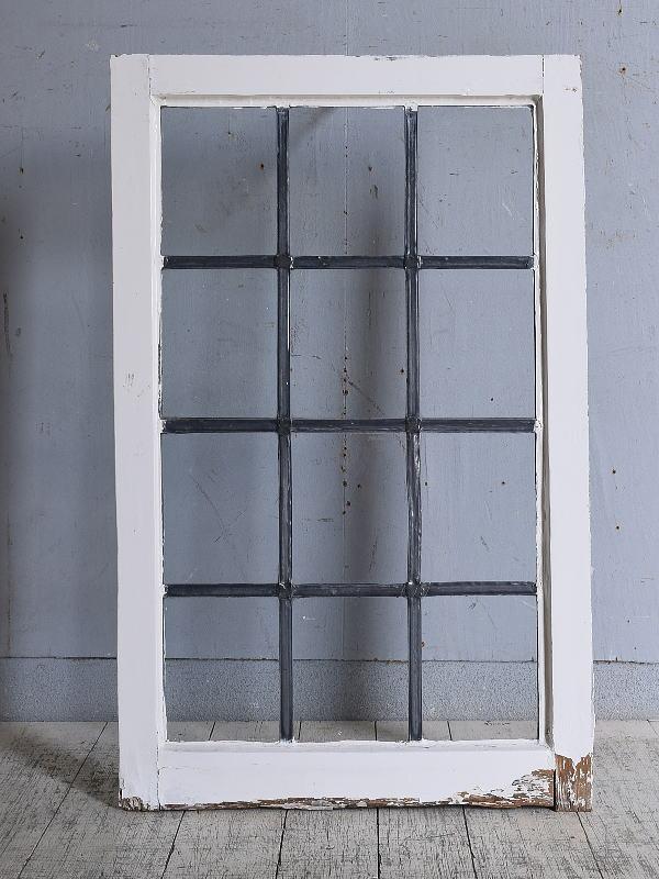 イギリス アンティーク 窓 無色透明 9719