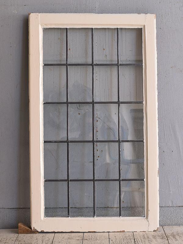 イギリス アンティーク 窓 無色透明 9721
