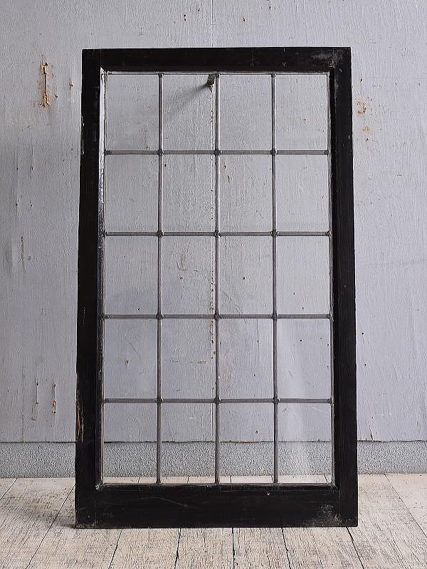 イギリス アンティーク 窓 無色透明 9749