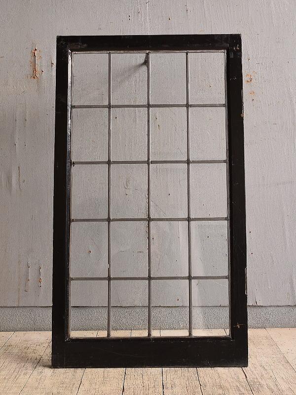 イギリス アンティーク 窓 無色透明 9751