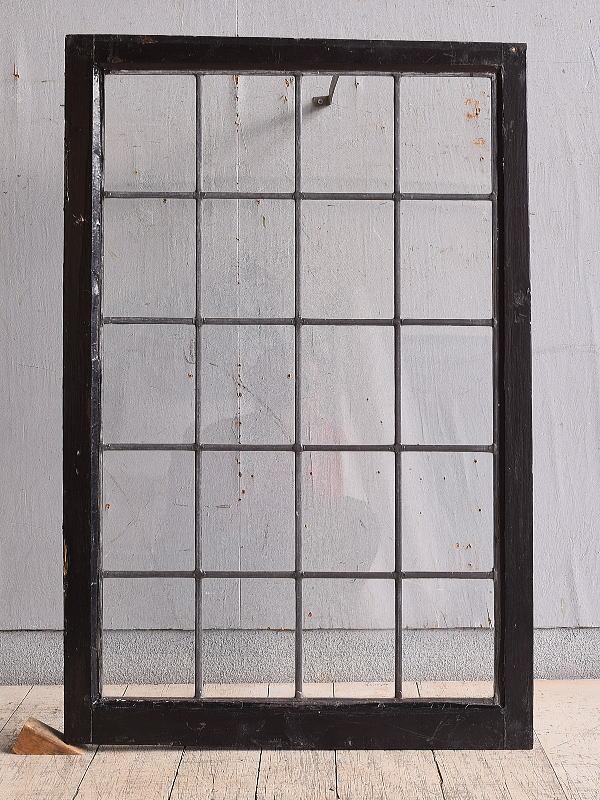 イギリス アンティーク 窓 無色透明 9769