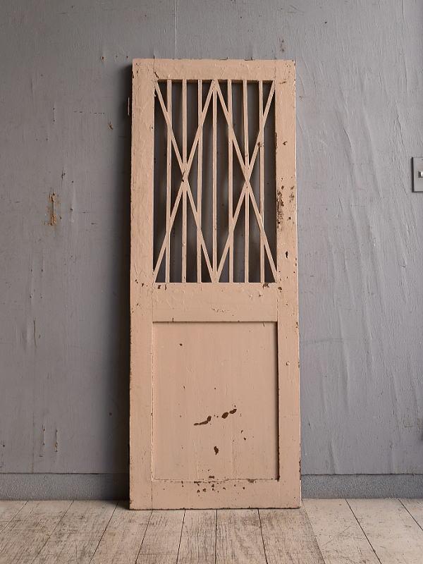 イギリス アンティーク カップボードドア  扉 9783