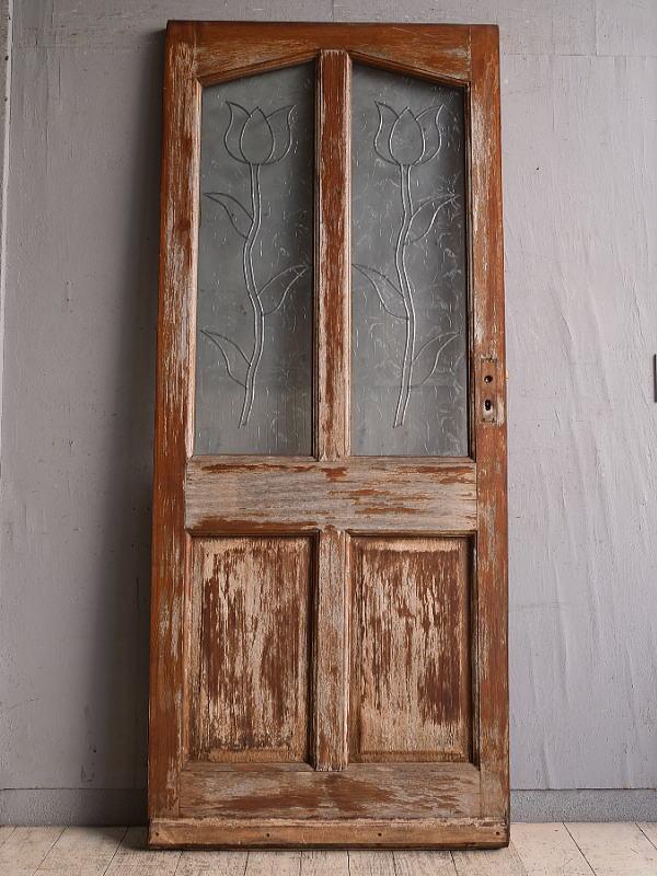 イギリス アンティーク ドア 扉 建具 9784