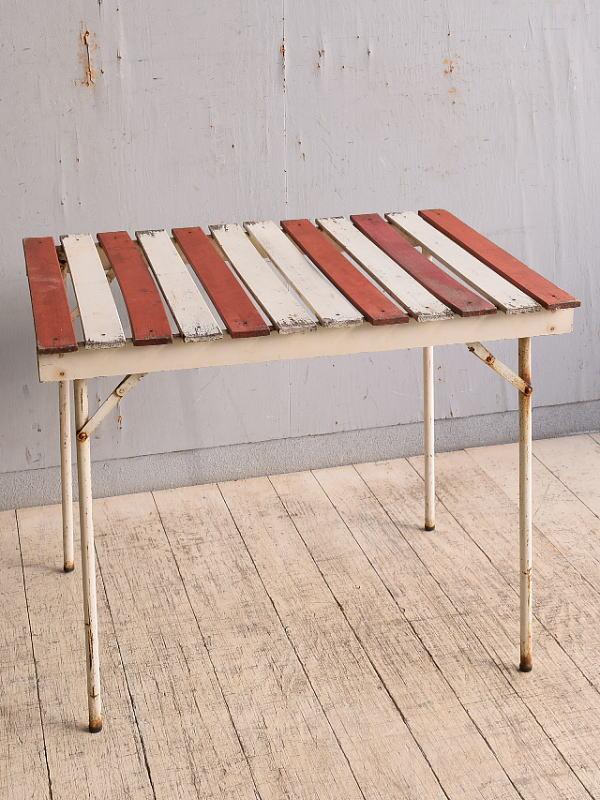 フレンチ アンティーク アイアン ガーデンテーブル 9800