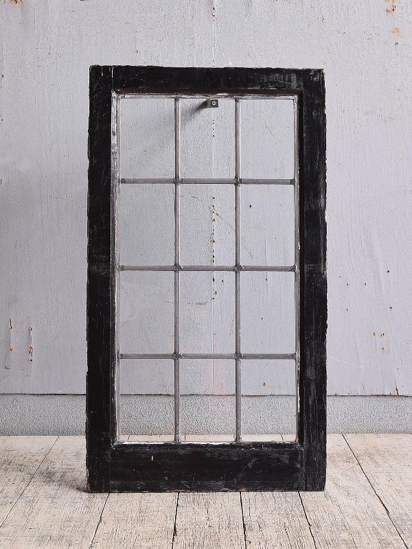 イギリス アンティーク 窓 無色透明 9817