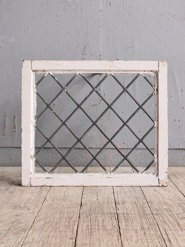イギリス アンティーク 窓 無色透明 9820