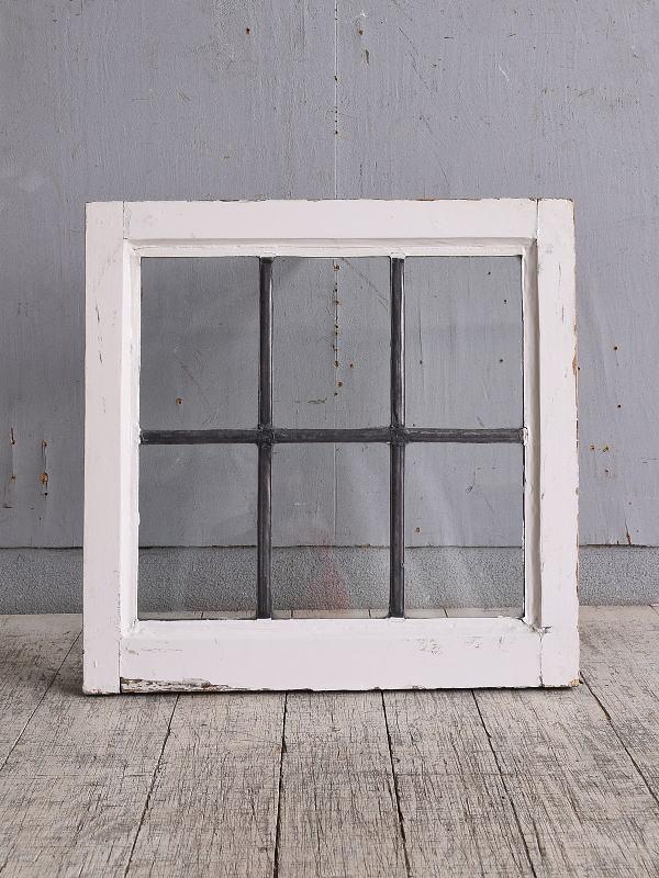 イギリス アンティーク 窓 無色透明 9822