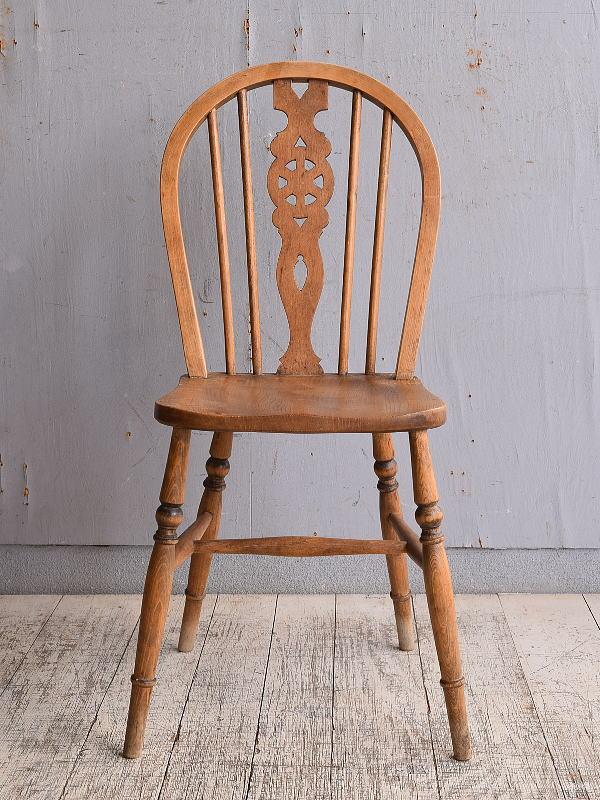 イギリス アンティーク家具 キッチンチェア 椅子 9836