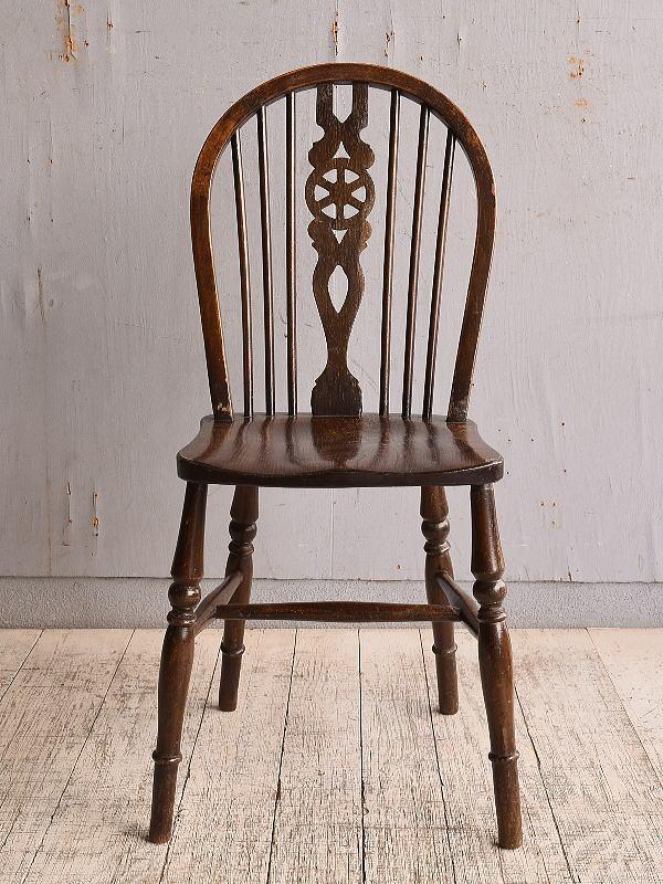 イギリス アンティーク家具 キッチンチェア 椅子 9839
