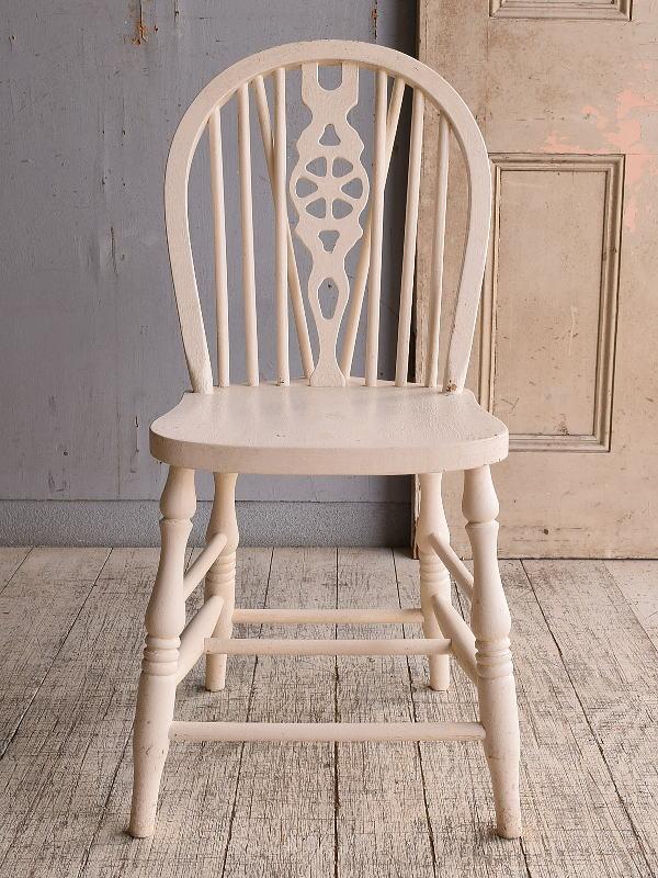 イギリス アンティーク家具 キッチンチェア 椅子 9849
