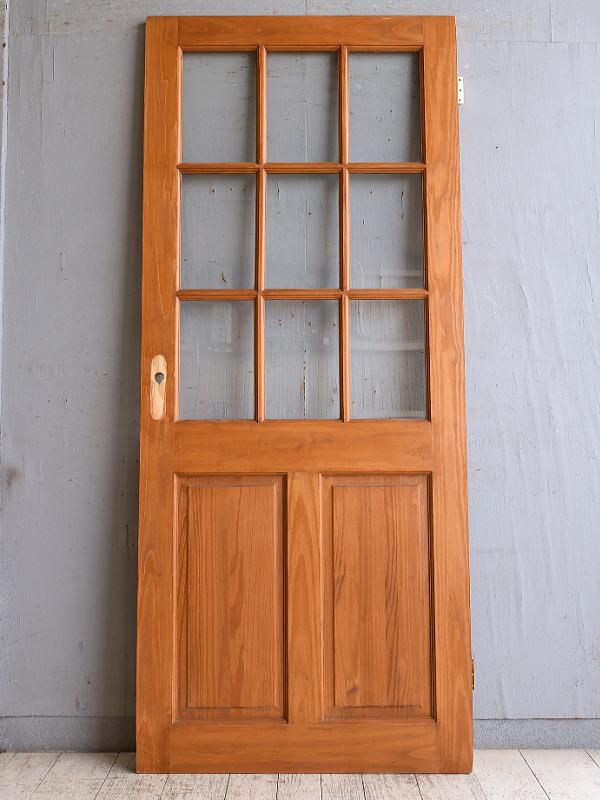 イギリス アンティーク ドア 扉 建具 9851