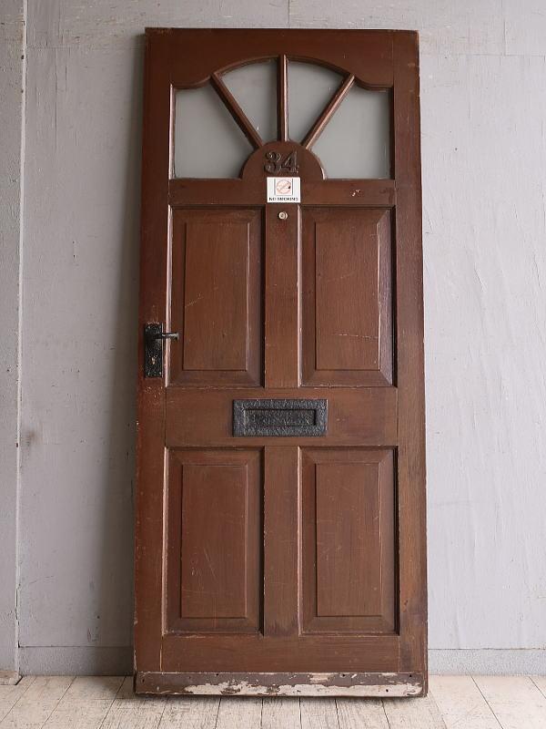 イギリス アンティーク ドア 扉 建具 9861