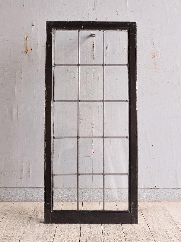 イギリス アンティーク 窓 無色透明 9862