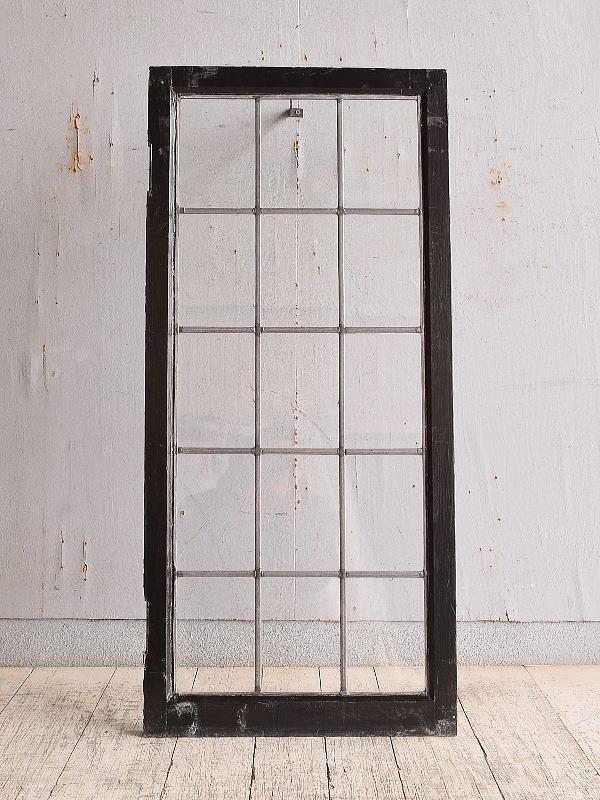 イギリス アンティーク 窓 無色透明 9863