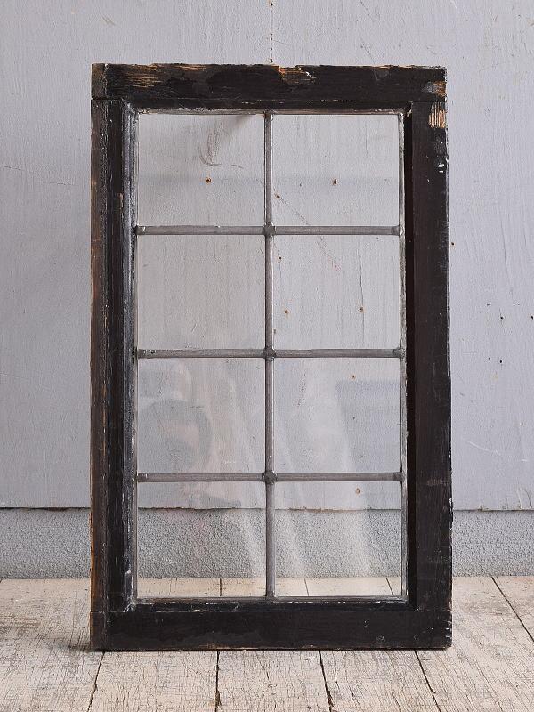 イギリス アンティーク 窓 無色透明 9867