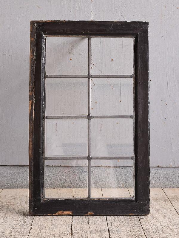 イギリス アンティーク 窓 無色透明 9868
