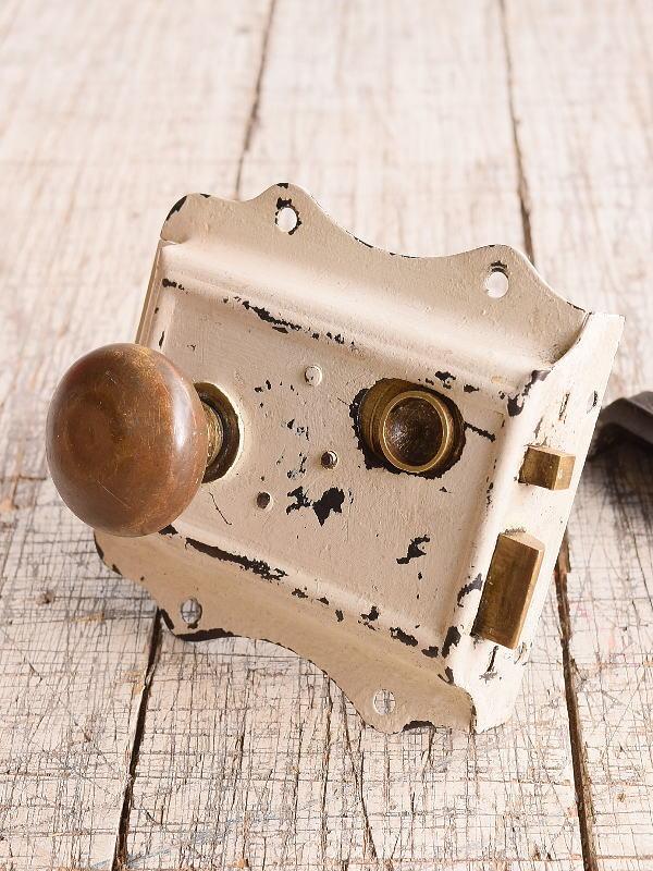 イギリス アンティーク ラッチ&ドアノブ 建具金物 9879