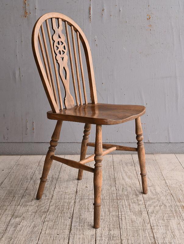 イギリス アンティーク家具 キッチンチェア 椅子 9883