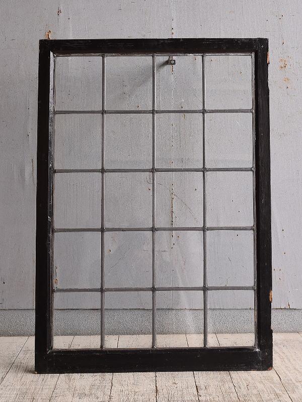 イギリス アンティーク 窓 無色透明 9885