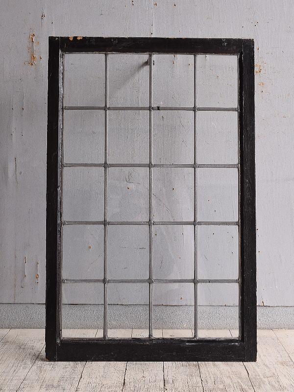 イギリス アンティーク 窓 無色透明 9888