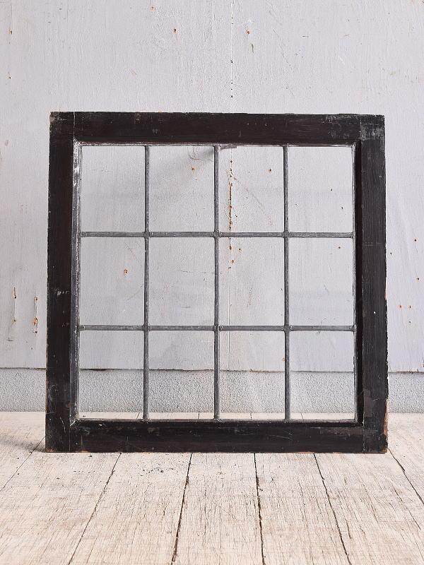 イギリス アンティーク 窓 無色透明 9895