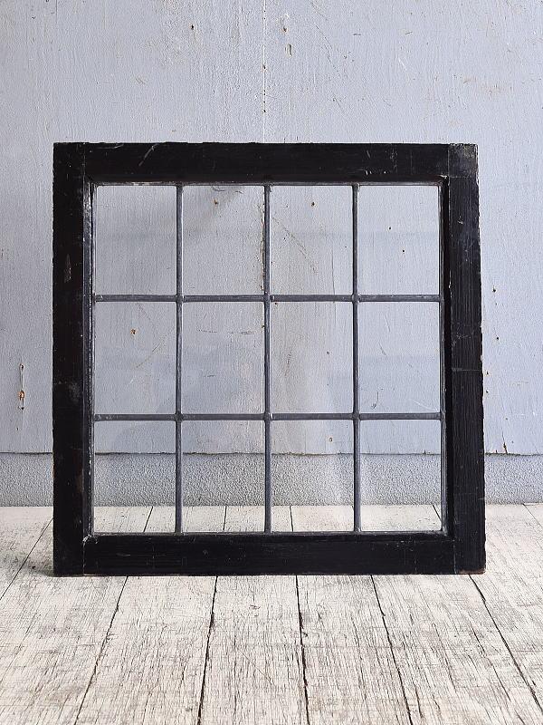 イギリス アンティーク 窓 無色透明 9896