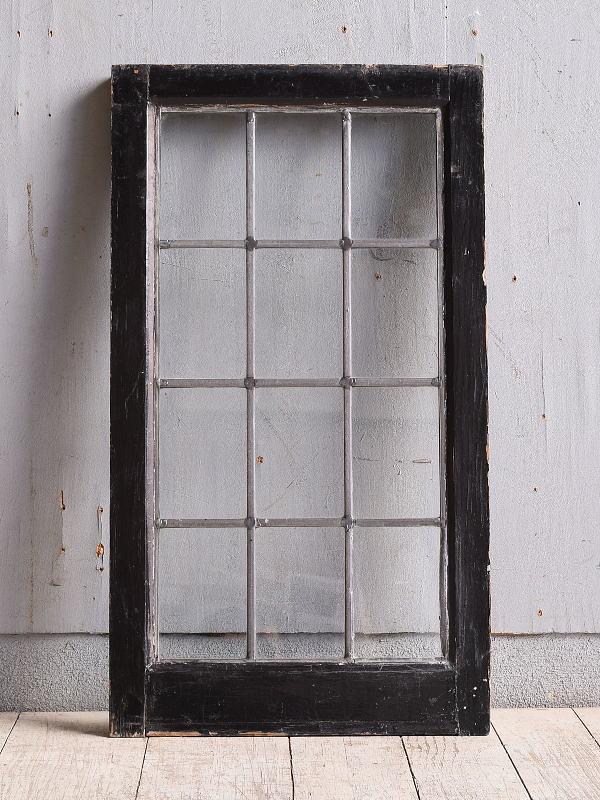 イギリス アンティーク 窓 無色透明 9963