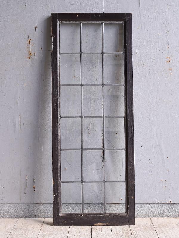イギリス アンティーク 窓 無色透明 9966