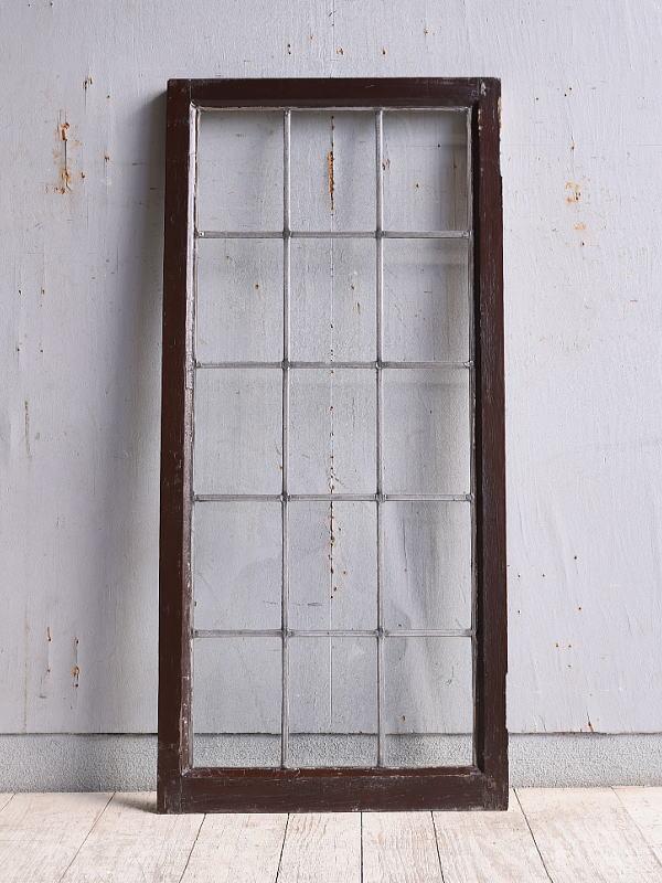 イギリス アンティーク 窓 無色透明 9967