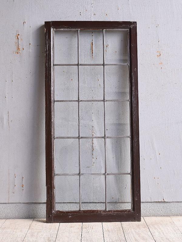 イギリス アンティーク 窓 無色透明 9968