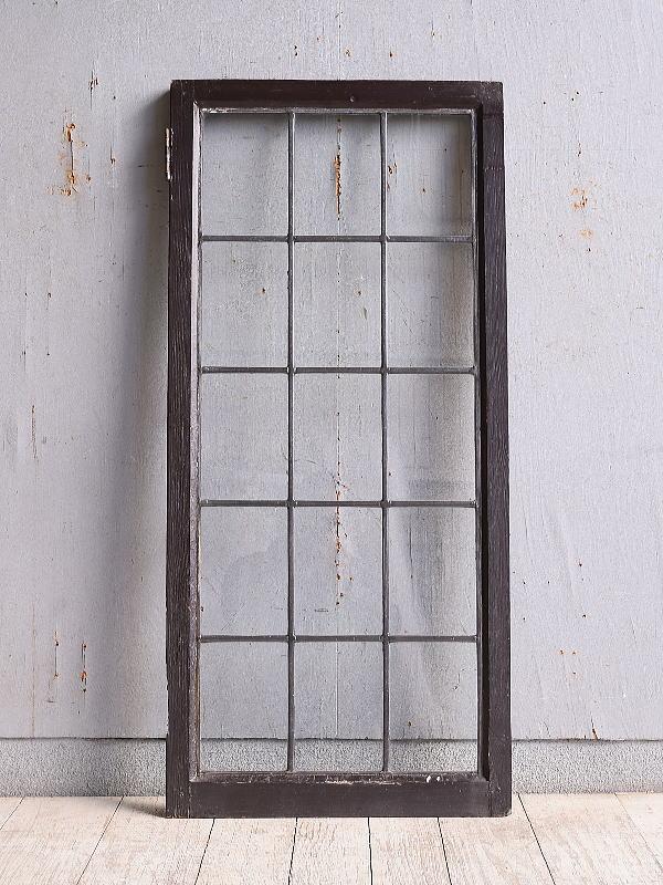 イギリス アンティーク 窓 無色透明 9969