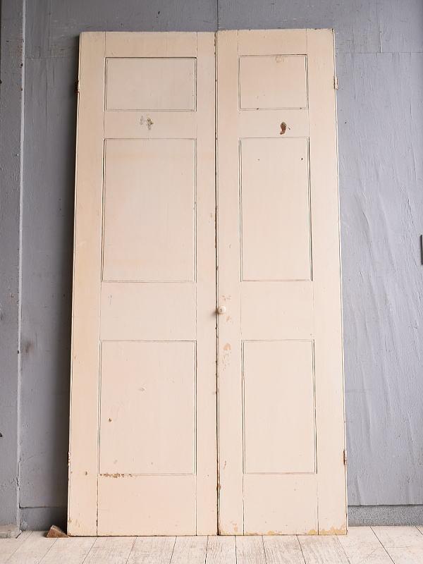 イギリス アンティーク カップボードドア  扉 9975