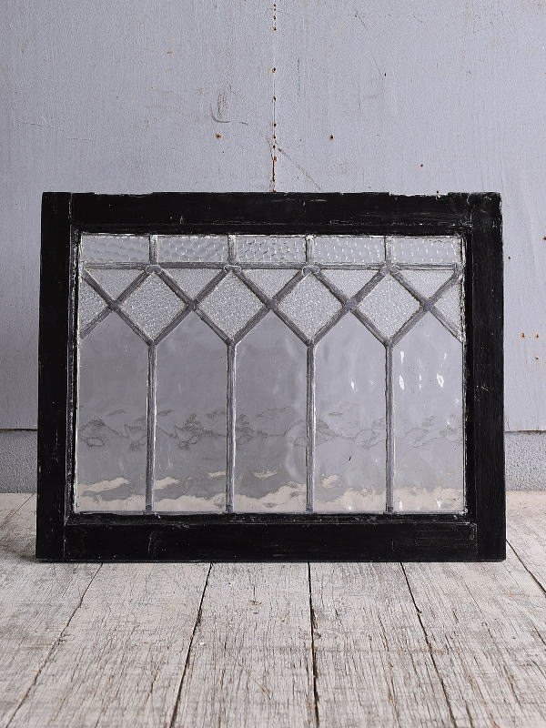 イギリス アンティーク 窓 無色透明 9981