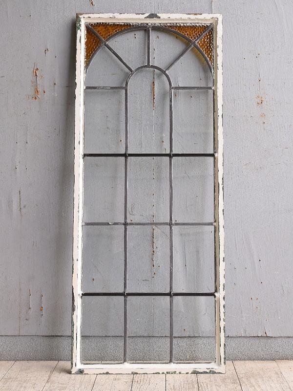 イギリス アンティーク 窓 無色透明 9983