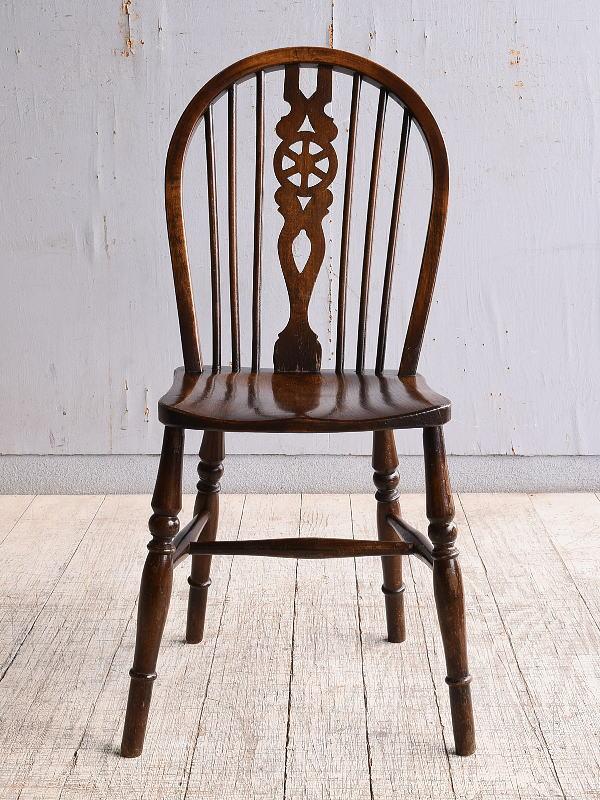 イギリス アンティーク家具 キッチンチェア 椅子 9986