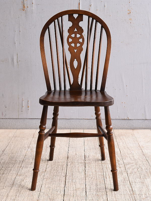 イギリス アンティーク家具 キッチンチェア 椅子 9987