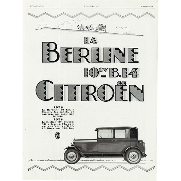 Citroën(シトロエン)クラシックカーのヴィンテージ広告 0031