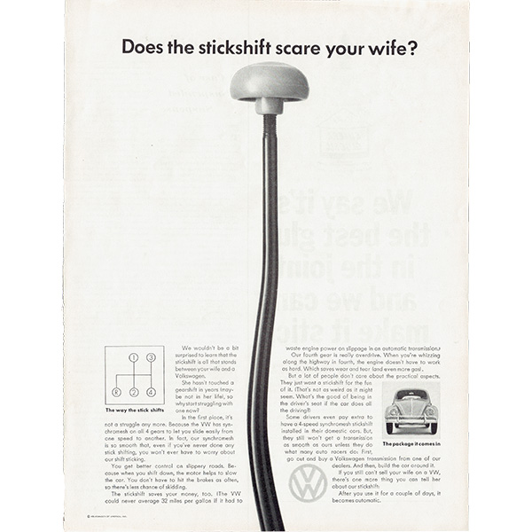 1960年代 フォルクスワーゲンビートル(VW Beetle)ヴィンテージ雑誌広告 006