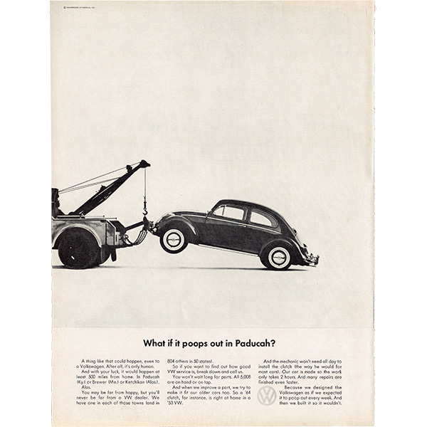 1960年代 フォルクスワーゲンビートル(VW Beetle)ヴィンテージ雑誌広告 009