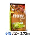 ナウ フレッシュ グレインフリースモールブリードパピー2.72kg(お取り寄せ)