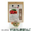 【冬キャンペーン ポイント10%還元】ドットわんの逸品 フリーズドライすりおろし野菜リンゴ 4g