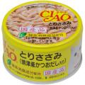 いなば CIAO チャオ ホワイティとりささみ焼津産かつおだし入り85g