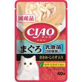 いなば CIAOパウチ 乳酸菌入り まぐろ ささみ・しらす入り 40g