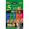 日清 キャラット ドライ 5つの味 海の幸 高齢猫用 400g