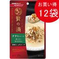 日清 懐石 贅の滴 ササミフレーク 香り立つおかか添え40g(パウチ)×12