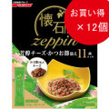 日清 懐石zeppin 11歳以上用 芳醇チーズ・かつお節添え 220g×12個